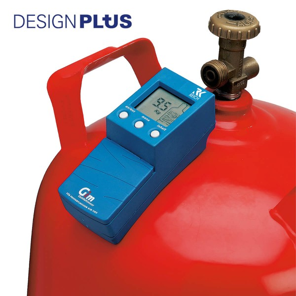 REICH - Gim Mobil Gasinhaltsmesser - für 11kg Propanflaschen - Ultraschallmessung
