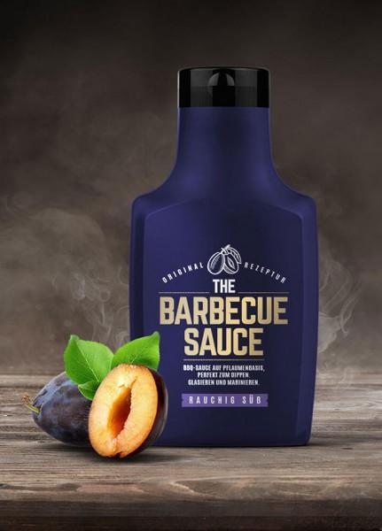 THE BARBECUE SAUCE - Rauchig Süß - auf Pflaumenbasis - 390g Flasche