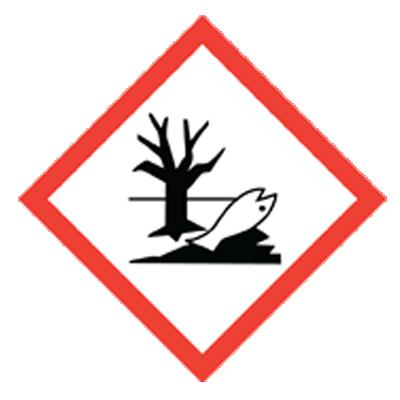 Sicherheit Giftig für Wasserorganismen
