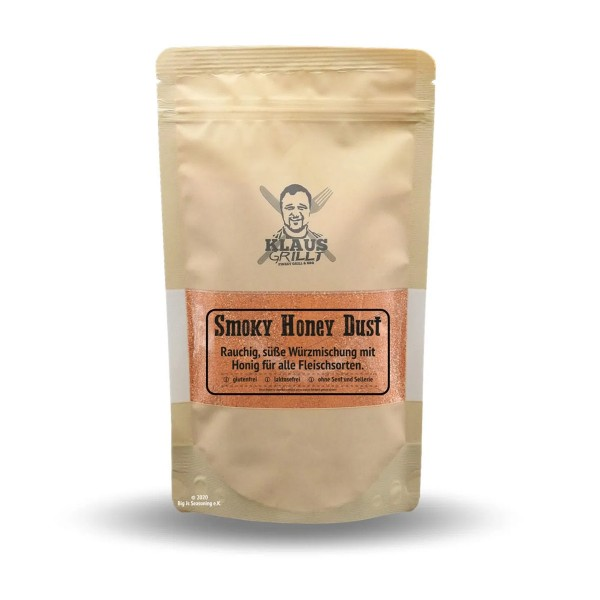 Klaus Grillt Smoky Honey Dust - 250g Beutel - Trockenrub