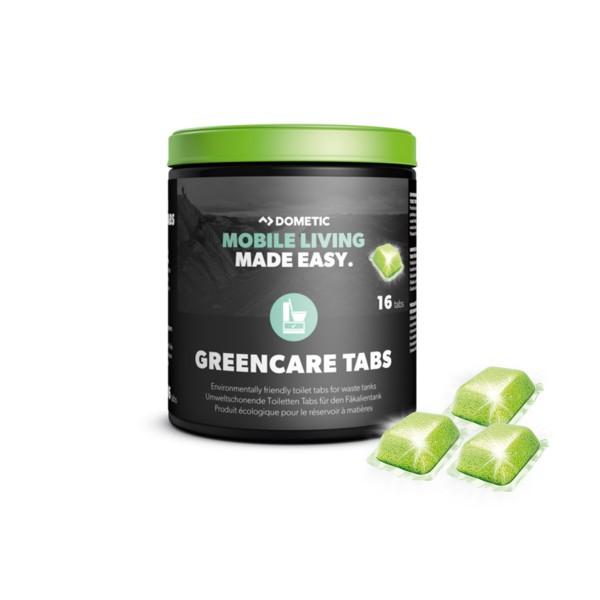 DOMETIC GreenCare Tabs - 16 Stück - Zusatz für Fäkalientank gegen Geruch - umweltschonend